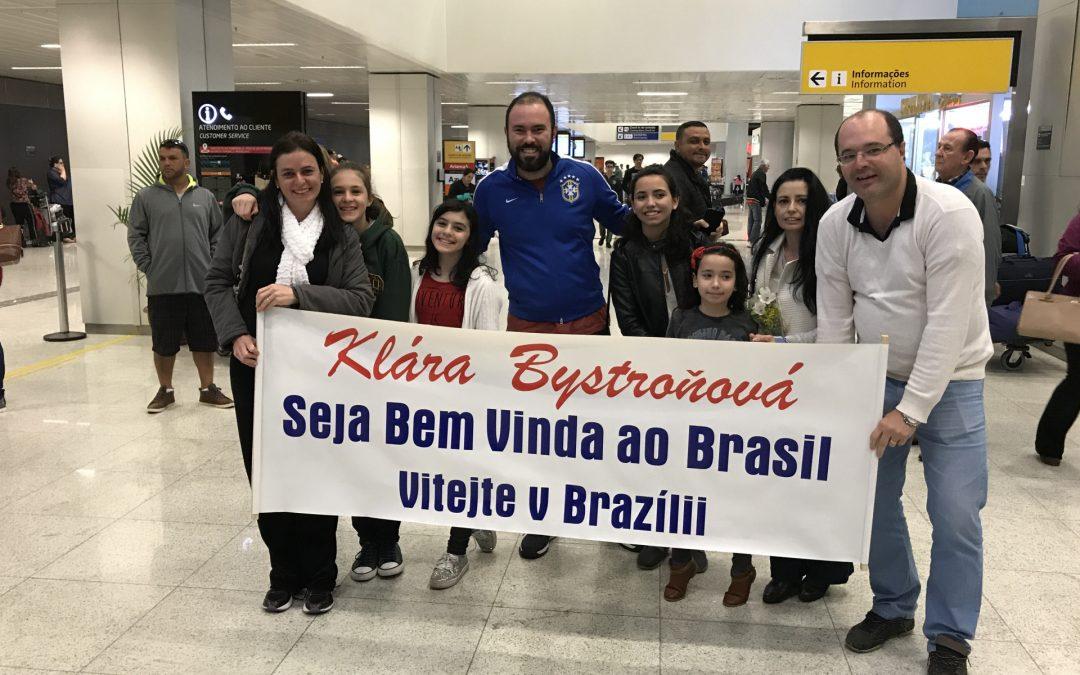 Estou em Brasil (Praha, Curych, São Paulo, Jundiaí)