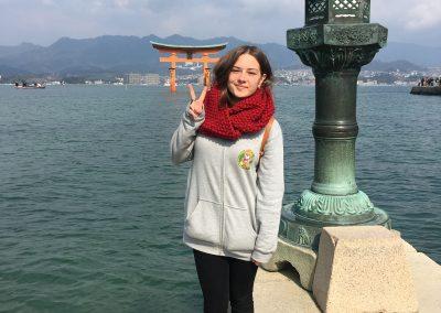 Japan tour - Itsukushima svatyně, Hiroshima