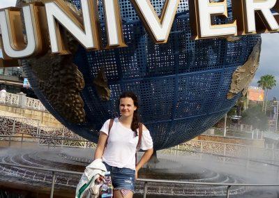 Na Floridě v Universal Studios