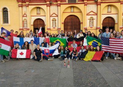 vymenni studenti,vylet Ruta Maya