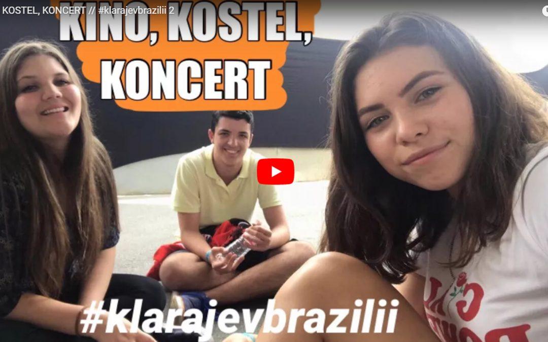 Vlog #2: KINO, KOSTEL, KONCERT
