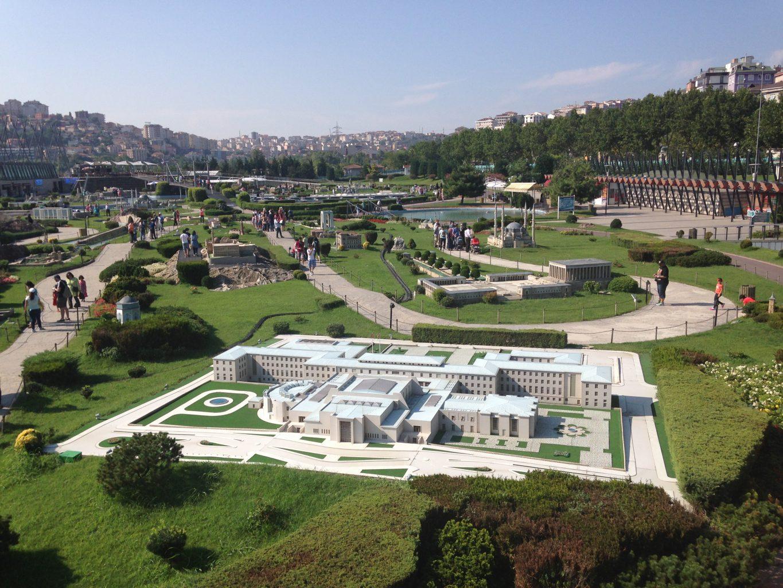 Letní tábor Turecko Stela - múzeum miniatúrnych stavieb