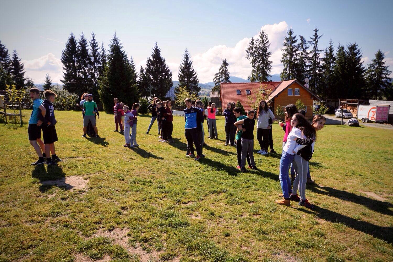 Aktivity v rámci programu kempu