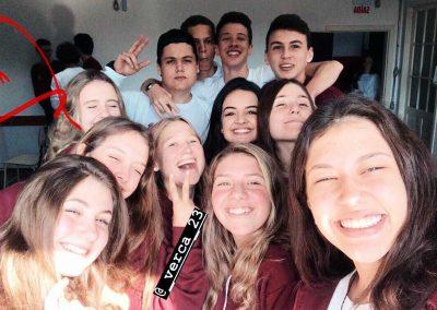 A tohle jsou moji noví spolužáci!