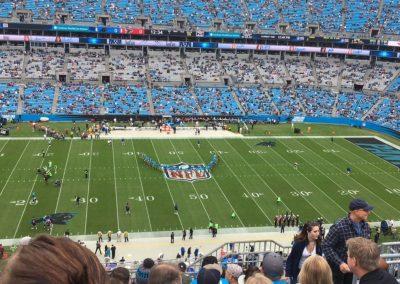 Americký fotbal v Charlotte