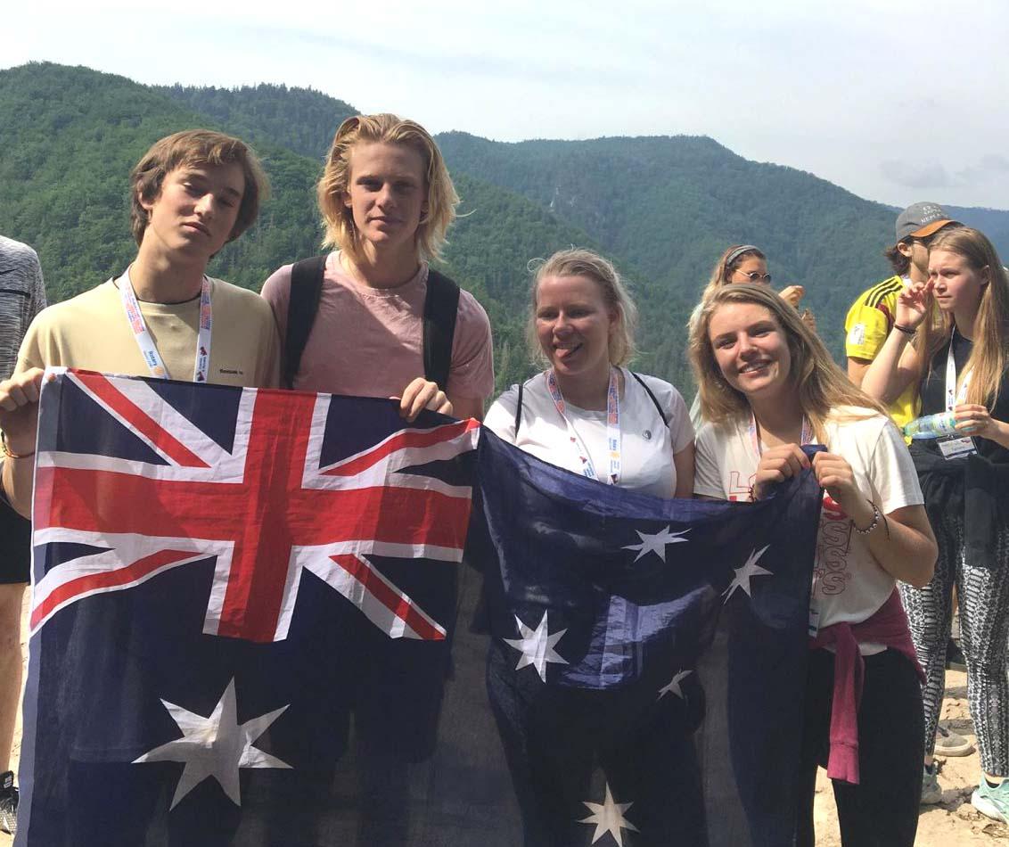 Austrálčania a ja