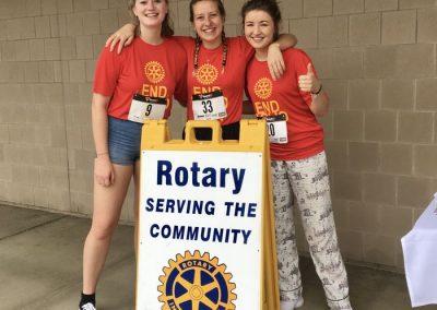 Běh Rotary proti v rámci projektu Polio+