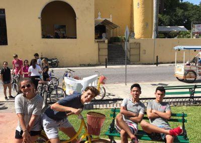 Bici Ruta (projížďka na kole po městě)