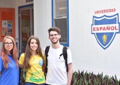 Češka a dva Brazilci, co byli v Acapulcu na svojí výměně