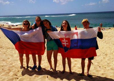 Československá výprava na Havaji
