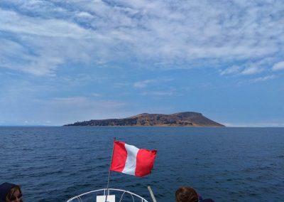 Cesta na ostrov Amantaní