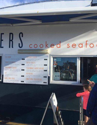 Fastfood s morskými plodmi