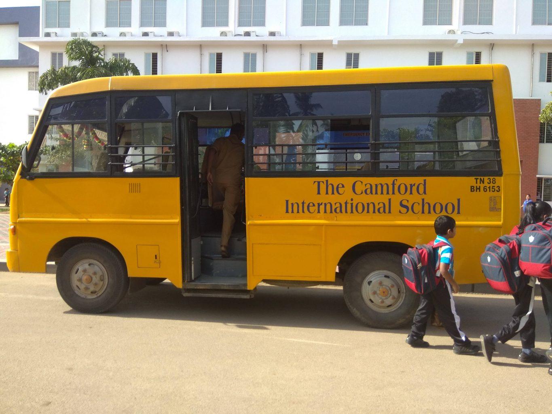 První dny v indické škole