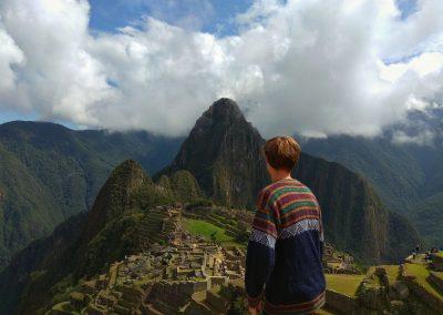 Já na Machu Picchu
