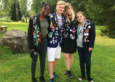 Karkku camp_první týden ve Finsku