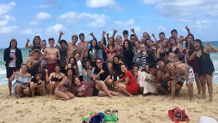 Ohana na Waimanalo beach