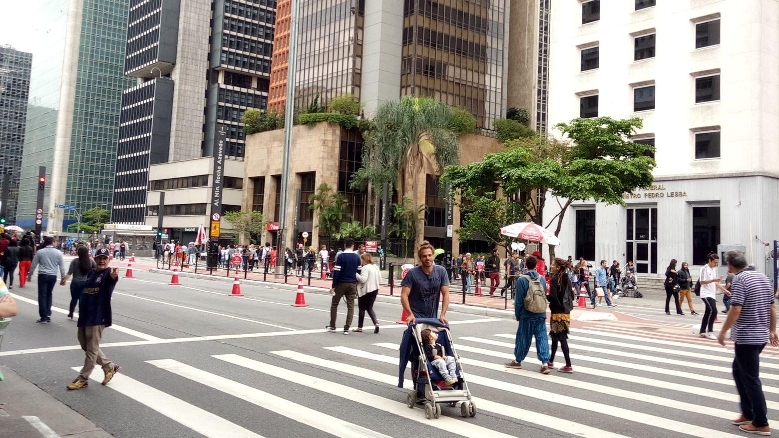 Paulista av. místo, kde jsem byla jako doma