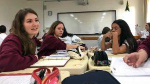 Práce ve skupinkách při matematice