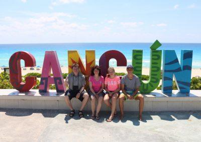 Příjemná návštěva (rodinný výlet po Riviéře Maya)