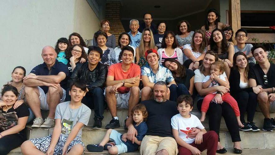 Skoro celá moje brazilská rodina, nikdy bych nevěřila jak moc ke mně po roce budou patřit