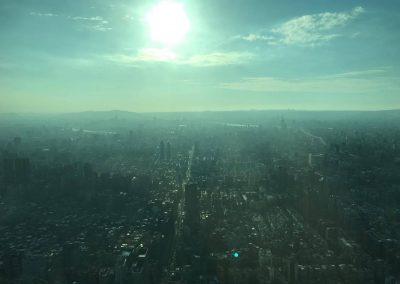 Výhled z Taipei 101