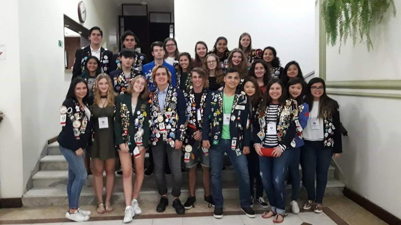 Vyměnní studenti a poslední meeting