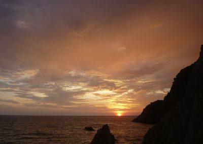 Západy slunce u moře byly každý den originální a dokonalé