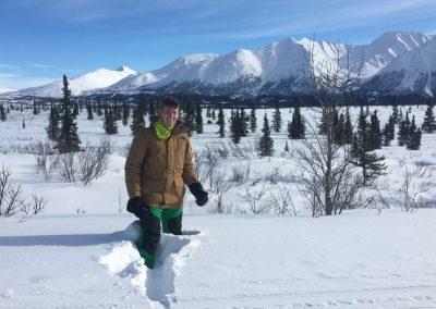 Zimu jsem doslova miloval