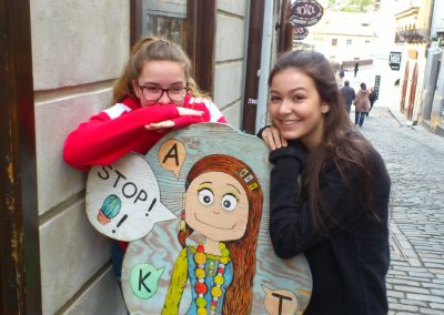 02 Montana a Kristýna v Českém Krumlově