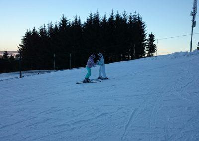 Beam - 1. den na lyžích