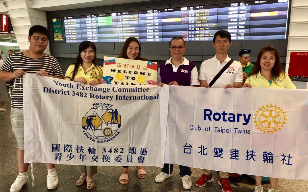 Som tu, na Taiwane!