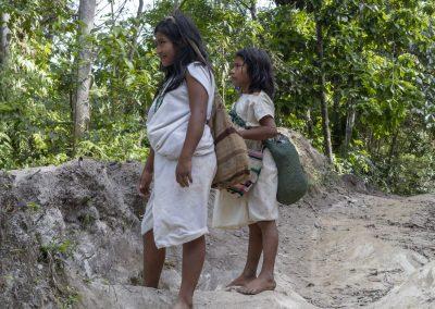 indiáni ze Sierra Nevada de Santa Marta