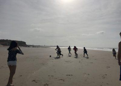 Mezinárodní plážový fotbal