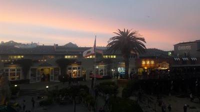 Monterey Bay kde som oslavovala narodeniny