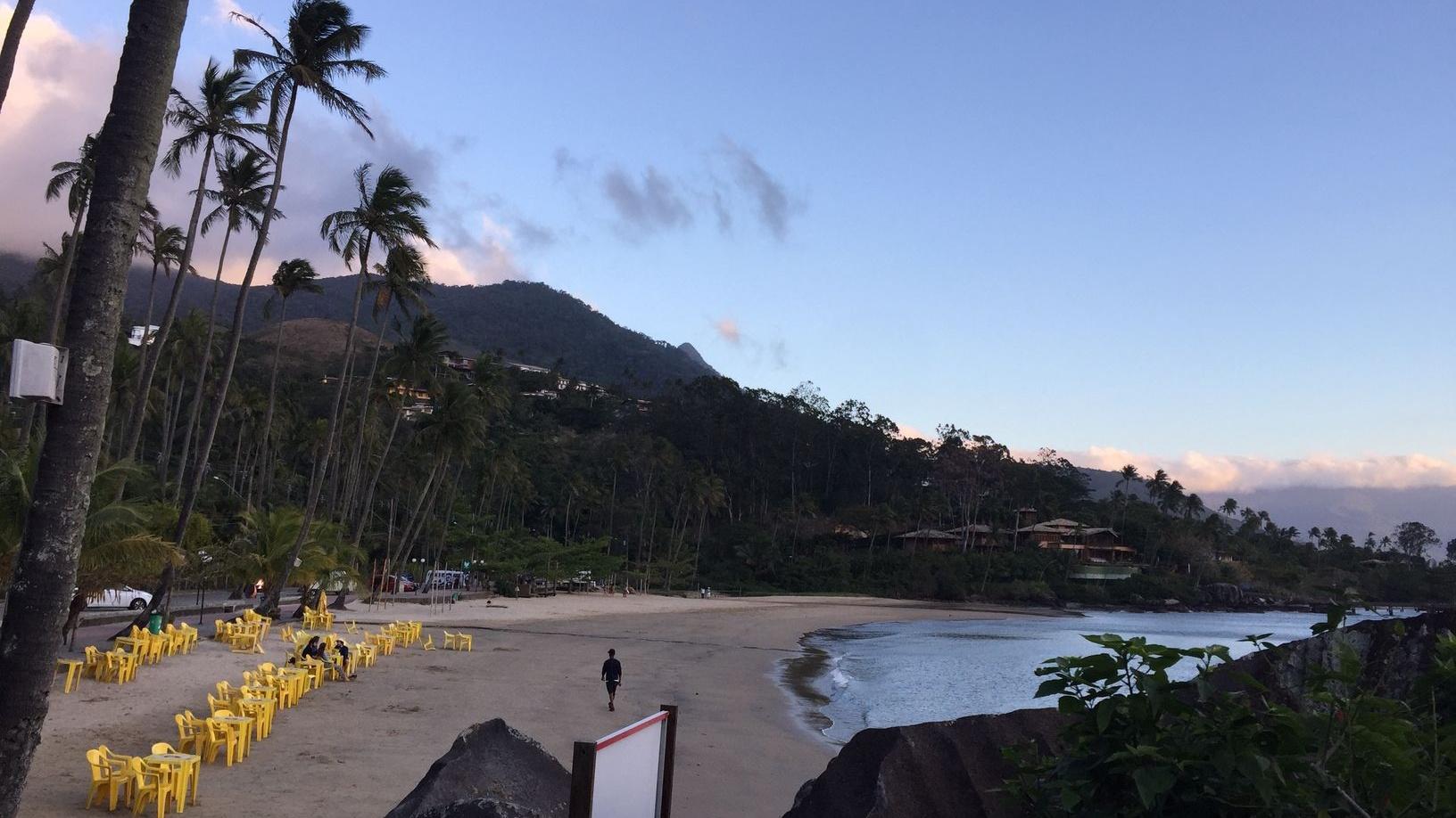 neďaleký ostrov od môjho mesta - Ilhabela