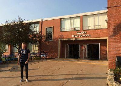 Prvý deň v novej škole