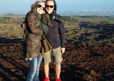 S host maminkou na Etně