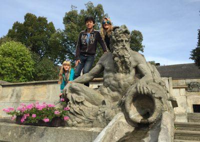 Výlet na hrad Kuks