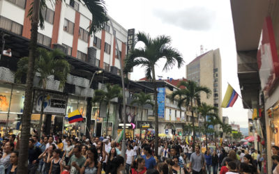 Prvé prázdniny v Kolumbii