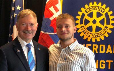 Matej Kunák: Rotary mi zmenilo život