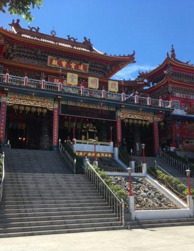 Jeden z fascinujúcich čínskych chrámov, ktorých by Ste na Taiwane našli veľmi veľa