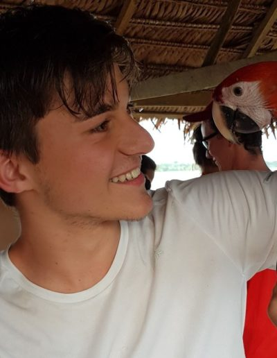V Kolumbii je v rámci výletov aj Amazonka
