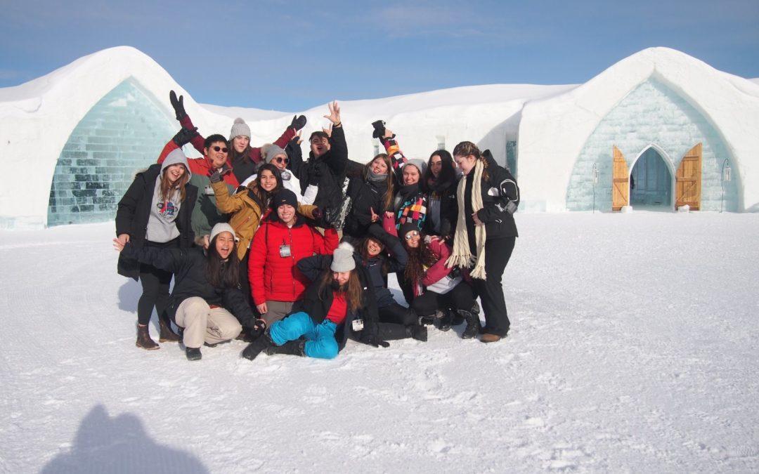 Změna rodiny a zimní aktivity s Rotary