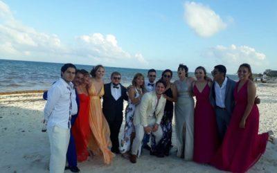Svatba na pláži a 9 měsíců v Mexiku!