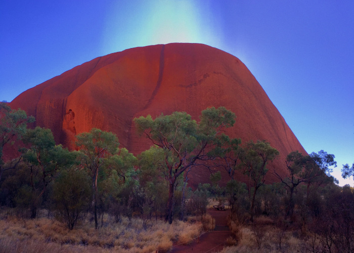 Cesta na Uluru