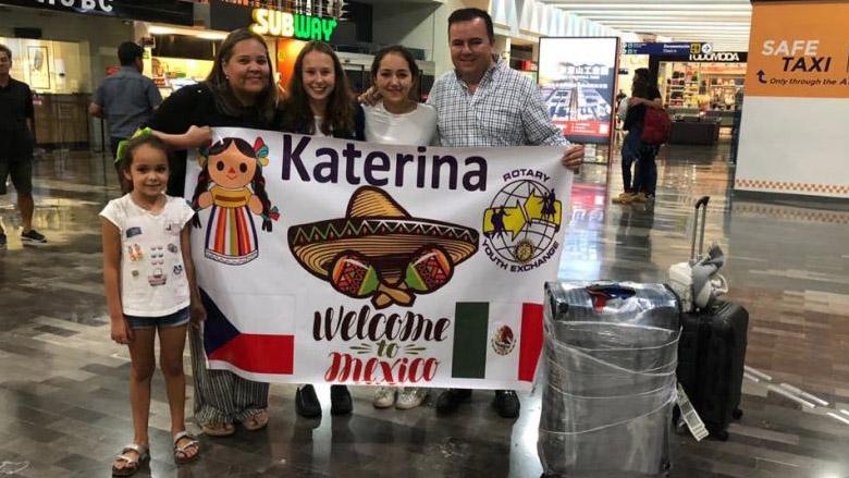 Na letišti v Monterrey