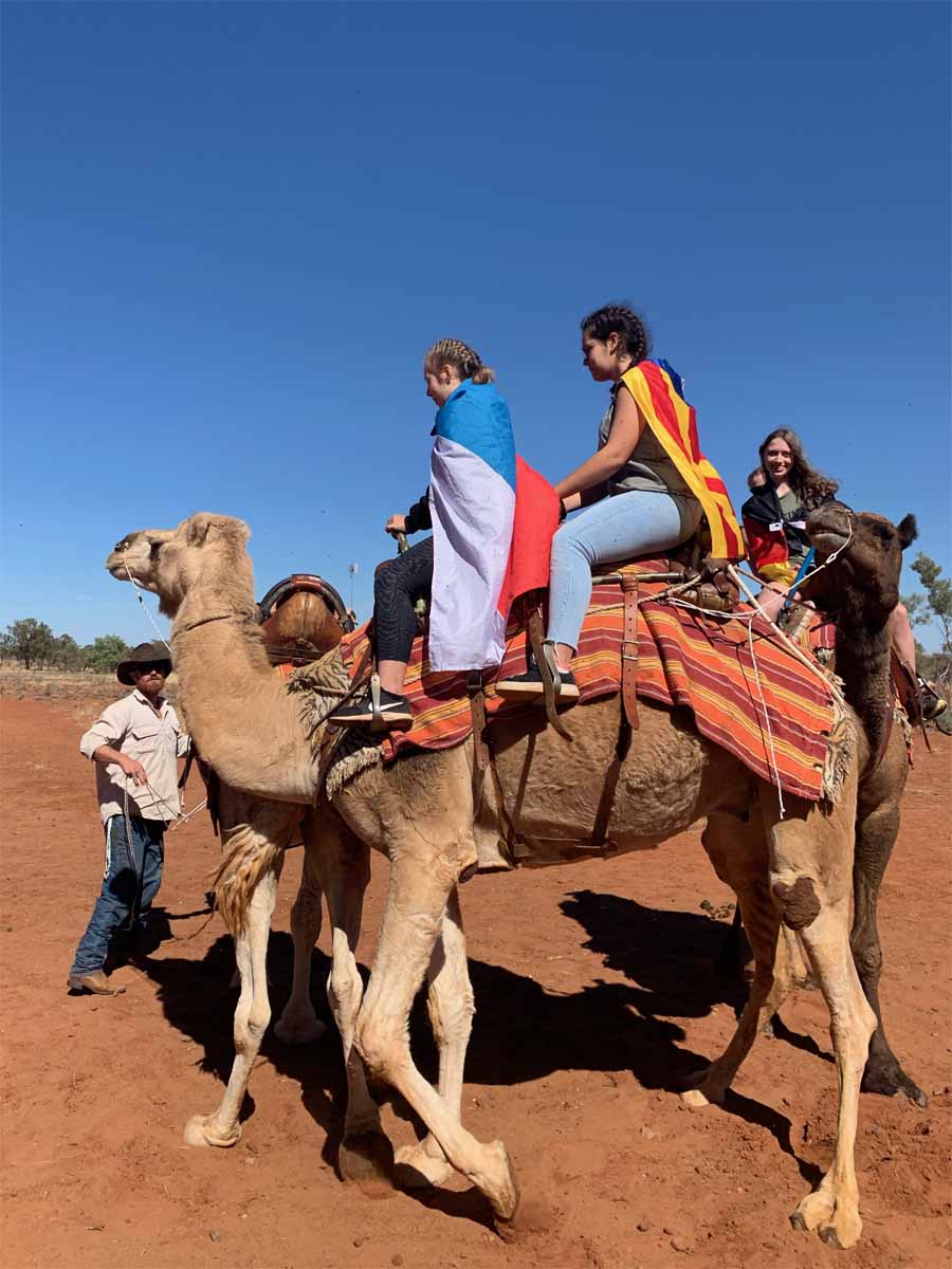 We go camel riding mood