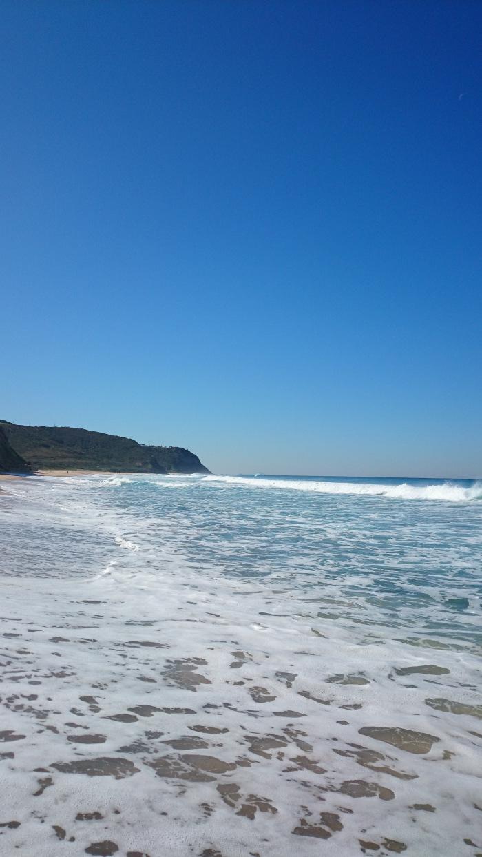 ...ale mají tady zase moře s obříma vlnama