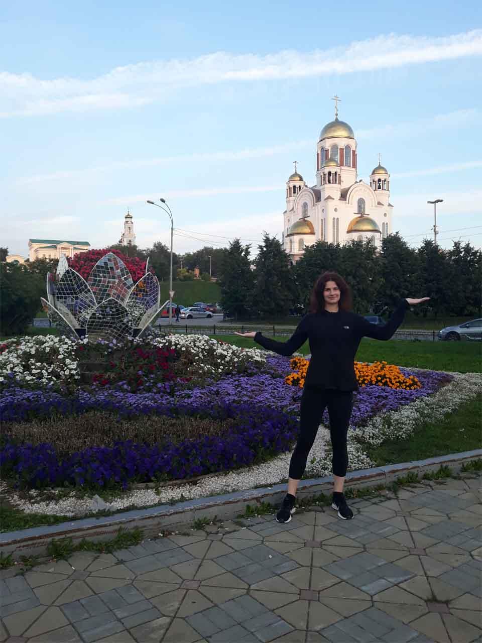 Chrám na krvi - Jekaterinburg
