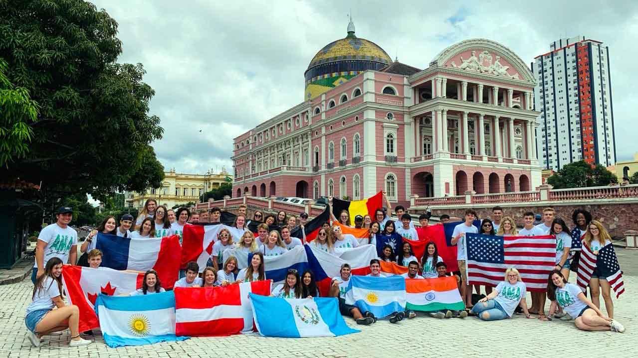 Manaus! Hlavní město státu Amazonas